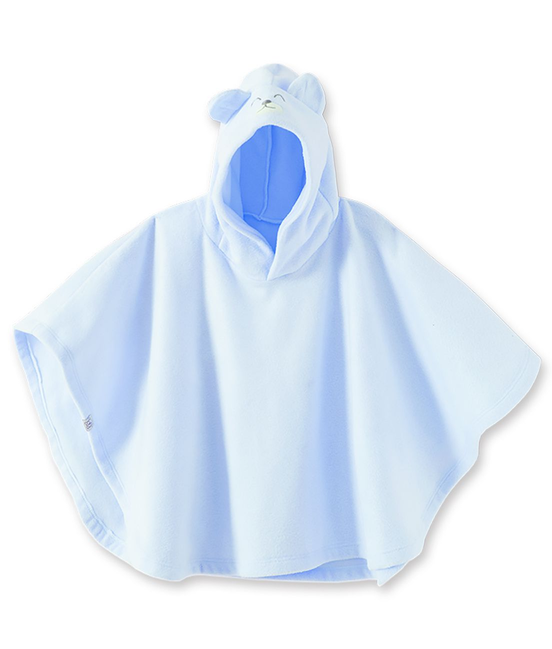 Poncho em soft Pingo Lelê  azul