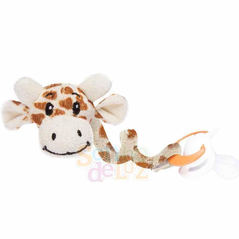 Prendedor de chupeta Sonho de Luz Girafa