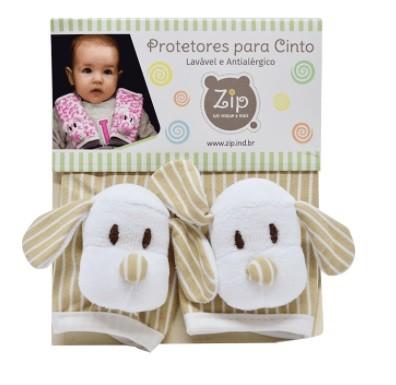 Protetor de Cinto de Segurança Zip Toys Infantil Listrado baby
