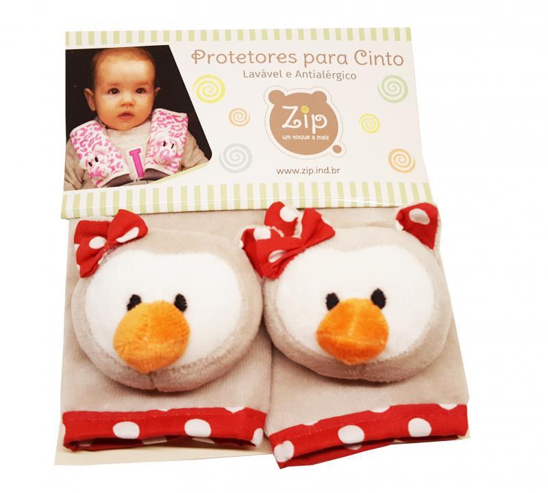Protetor de Cinto de Segurança Zip Toys Infantil Coruja Matilda