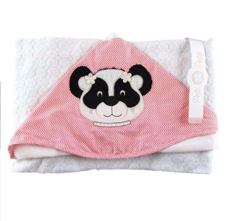 Toalha de Banho Peti Petá Panda