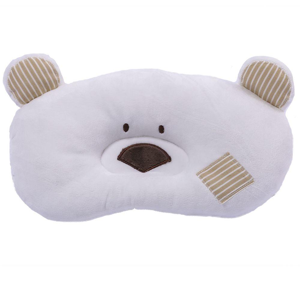 Travesseiro Zip Toys Urso Marfim