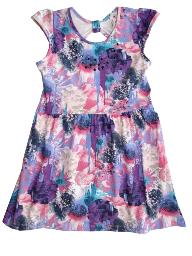 fa8dcc59baace Vestido Brandili Infantil roxo rosa   Tamanho 12 - Sonho colorido kids ...