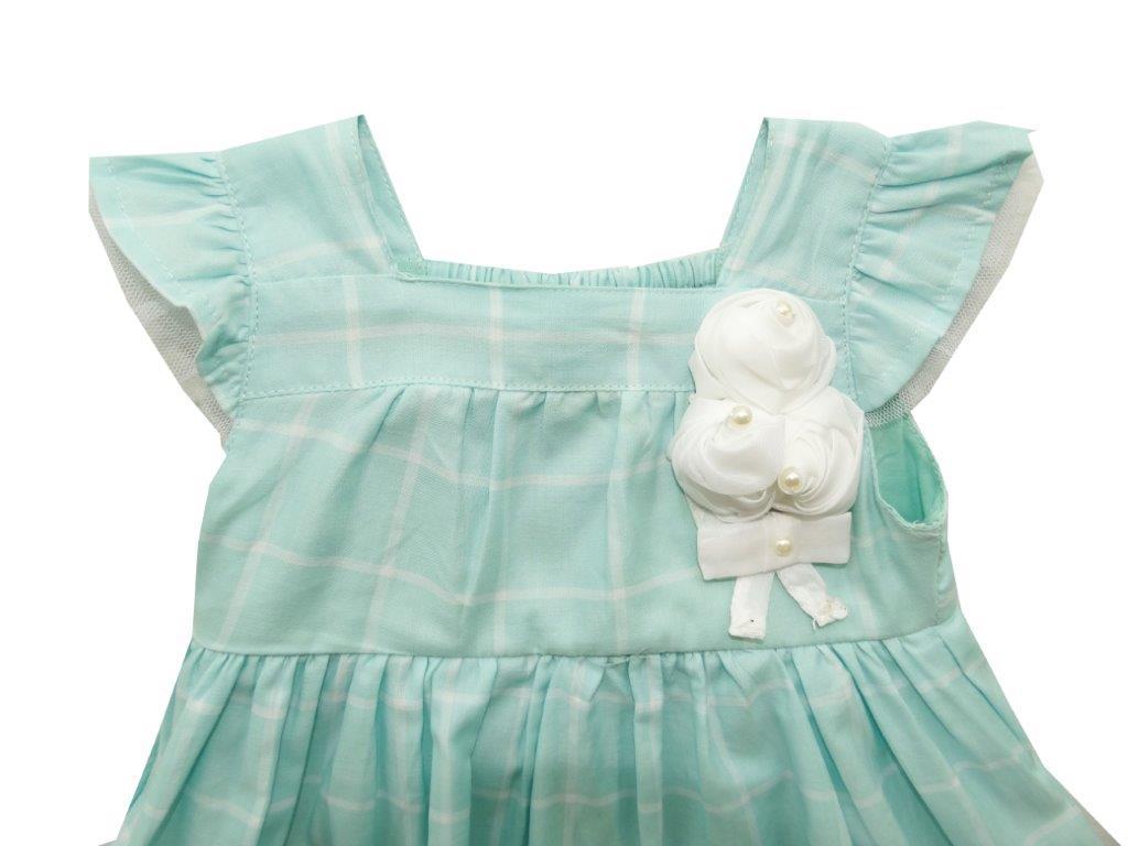 Vestido Milon verde xadrez  / Tamanho P