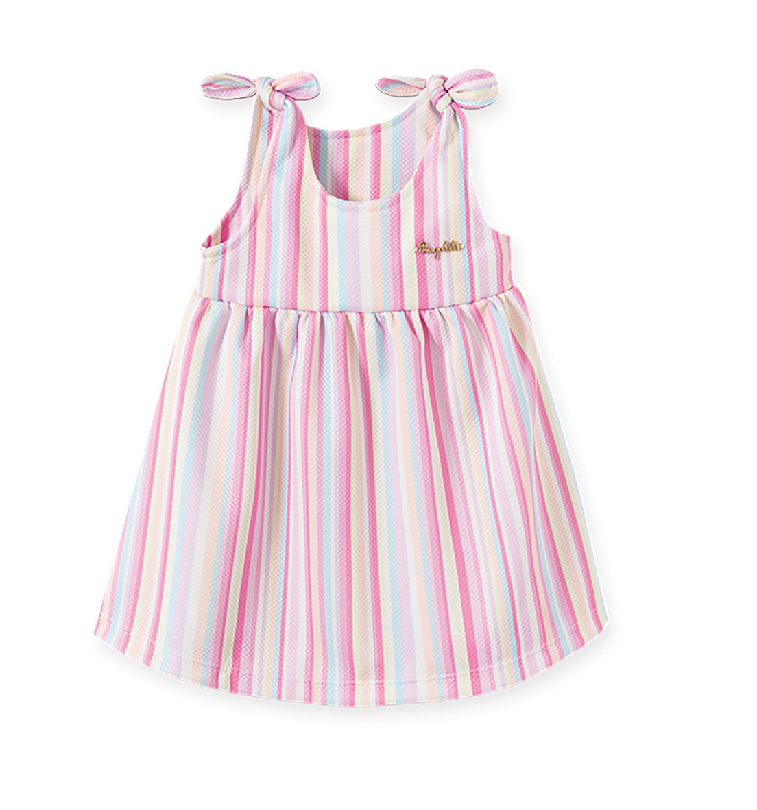 Vestido Infantil Pingo Lelê  Arco Iris