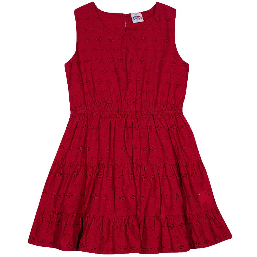 Vestido Tip Top Laise Vermelho - Tamanho 2
