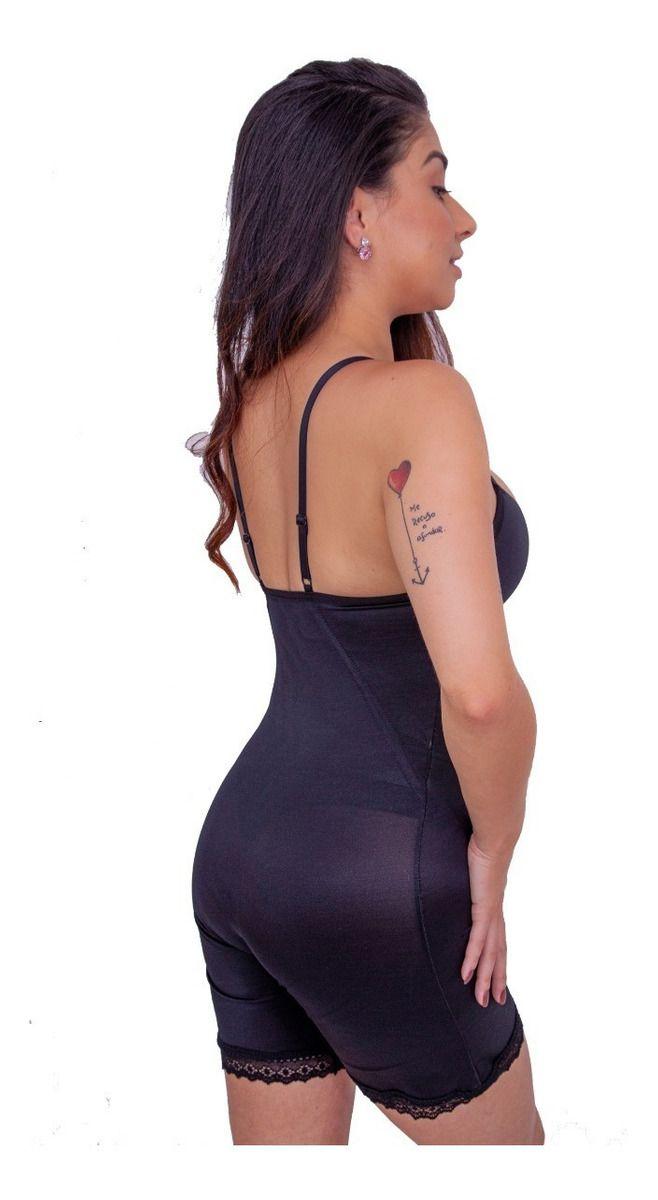 Body Modelador Amamentação Com 2 Barbatanas Cinta Pós Parto - (Modelo 20)