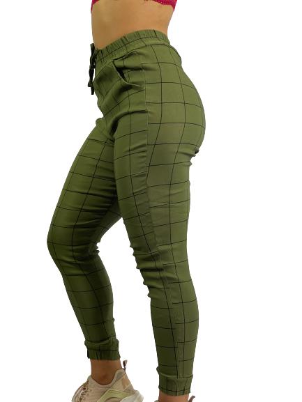 Calça Feminina Clochard Xadrez R10