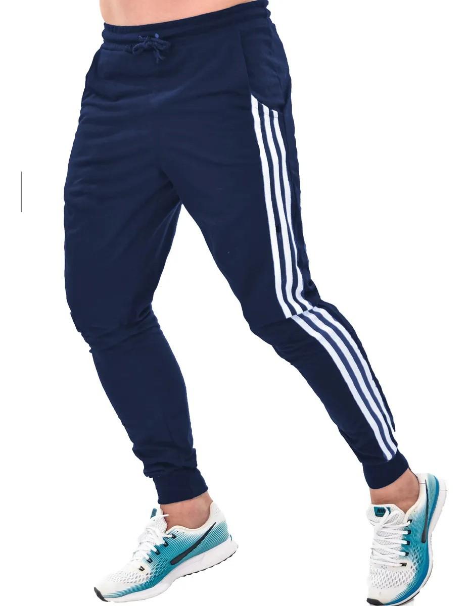 Calça Moletom Skinny Jogger Masculina Moletinho Academia - (Modelo 18)
