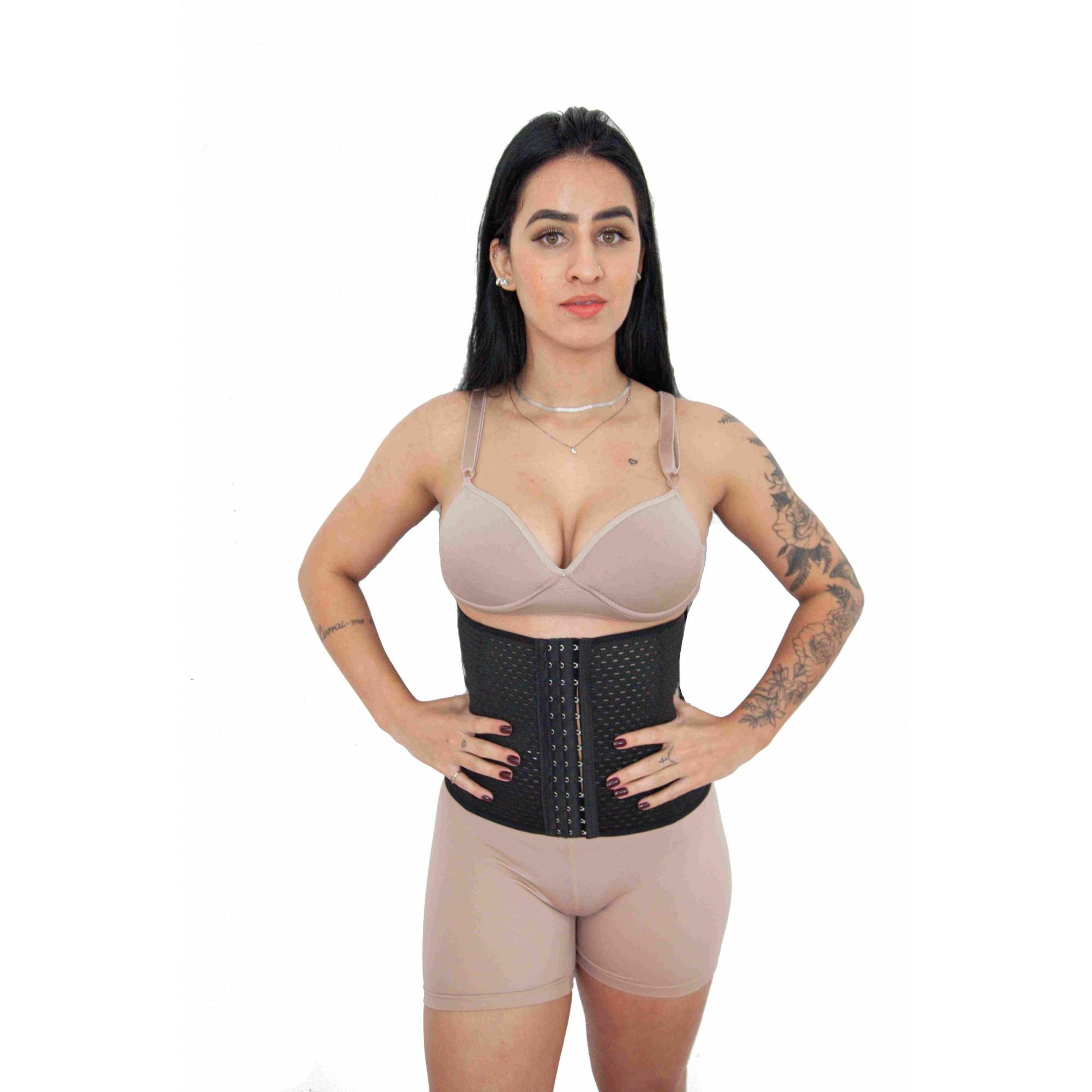 Cinta Modeladora Das Famosas Use Na Academia Ou Dia-a-dia  C04
