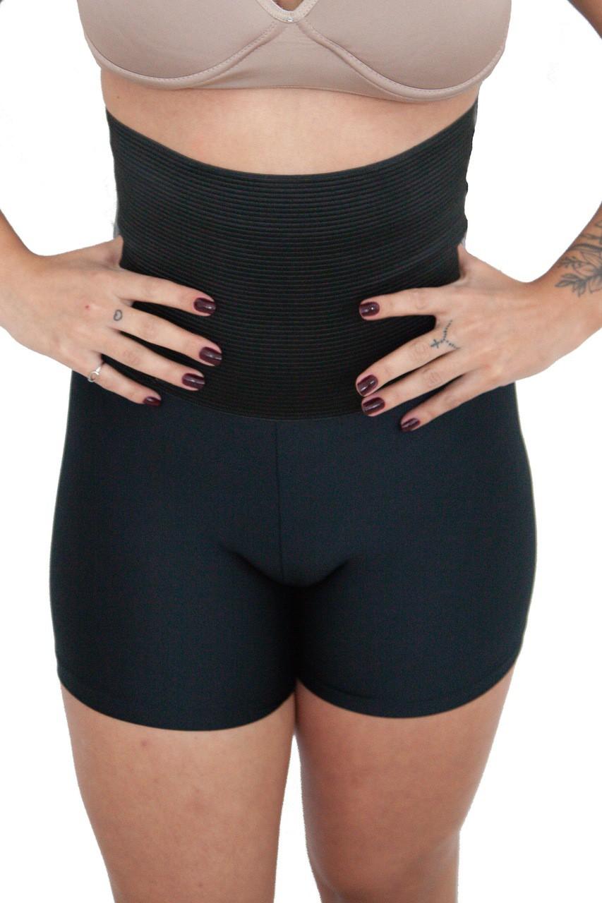 Cinta Modeladora Shorts Zera Barriga Levanta E Aumenta O Bumbum - (M15)
