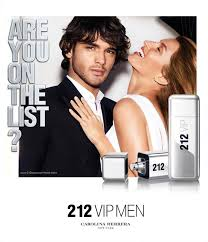 Perfume 212 Vip Men Carolina Herrera 100 ml Original Lacrado
