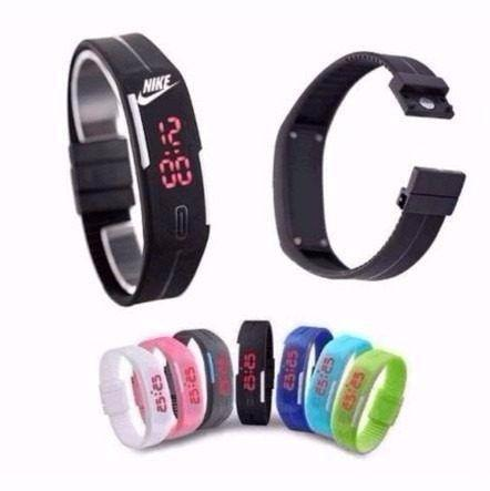 Relogio Pulseira Nike Digital Led