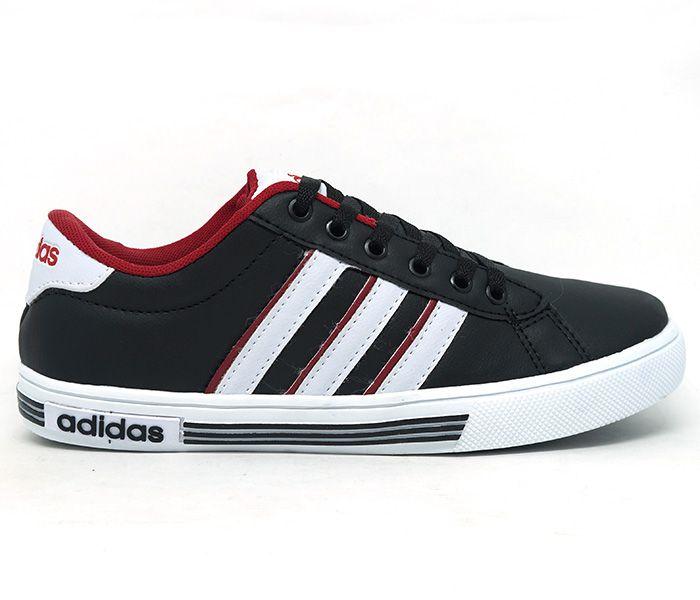 Tênis Adidas Daily Team K Preto e Vermelho