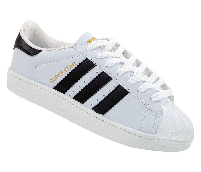 Tênis Adidas Superstar Branco e Preto