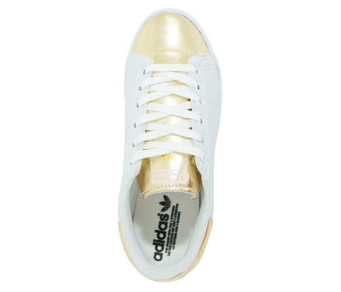 Tênis Adidas Superstar Metalizado Branco e Ouro LANÇAMENTO
