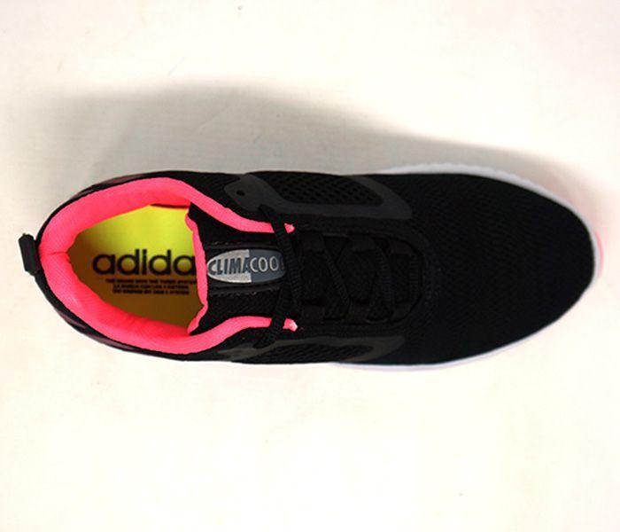 Tênis Feminino Adidas ClimaCool Preto e Rosa