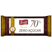 Chocolate 70% sem Lactose - Pack com 3 unid