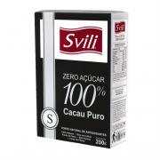 Cacau 100%  Puro Zero Açúcar SVILI