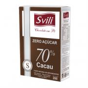 CHOCOLATE EM PO 70% ZERO 200G - SVILI