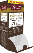 Display Chocolate 70% sem Lactose - 24 unid