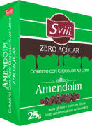 Drágea Amendoim Zero Açúcar 25g