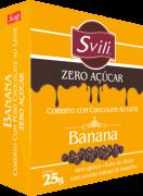 Drágea Banana Zero Açúcar 25g