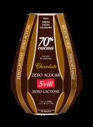 Embalagem Páscoa com Chocolate 70% sem Lactose Zero Açúcar SVILI