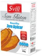 Mistura para Bolo Baunilha Sem Glúten Zero Açúcar SVILI