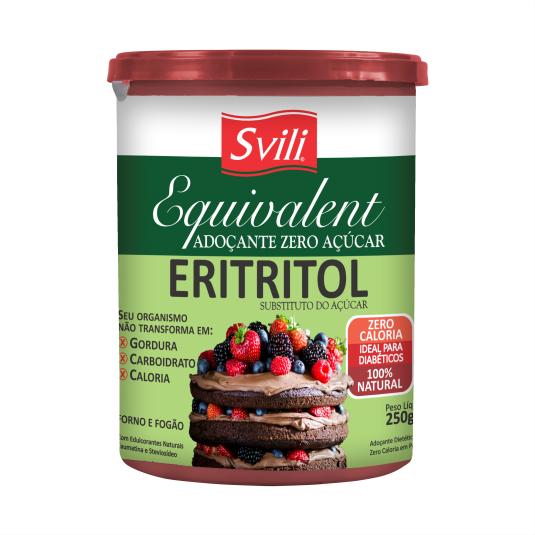 Adoçante Culinário Eritritol em pó 250g