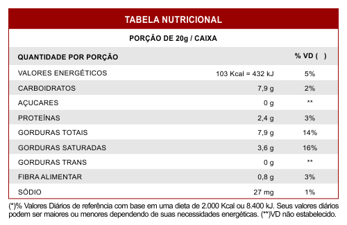 Barrinha Chocolate com Avelã Zero Açúcar SVILI