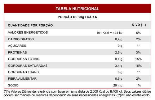 Barrinha Chocolate com Castanha Zero Açúcar SVILI