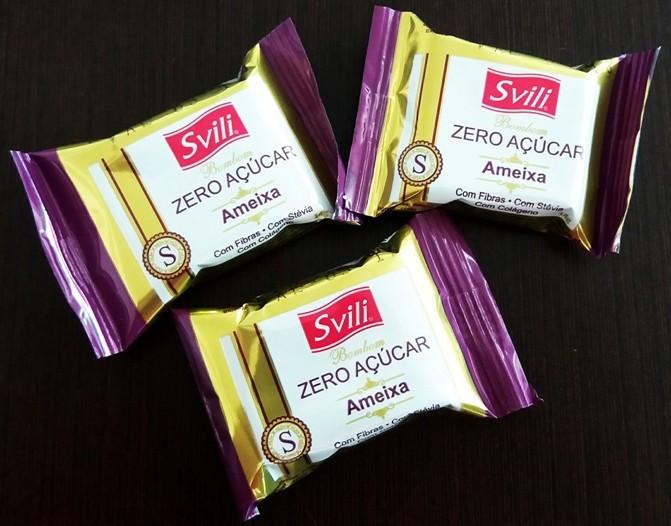 Bombom Ameixa Zero Açúcar - Pack 3 und