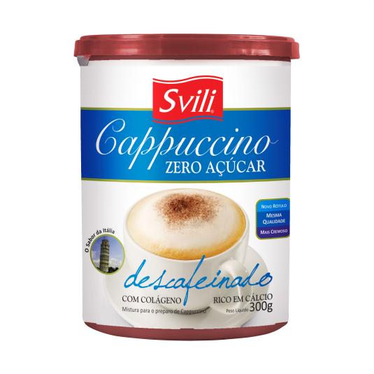 Cappuccino Descafeinado Zero Açúcar SVILI