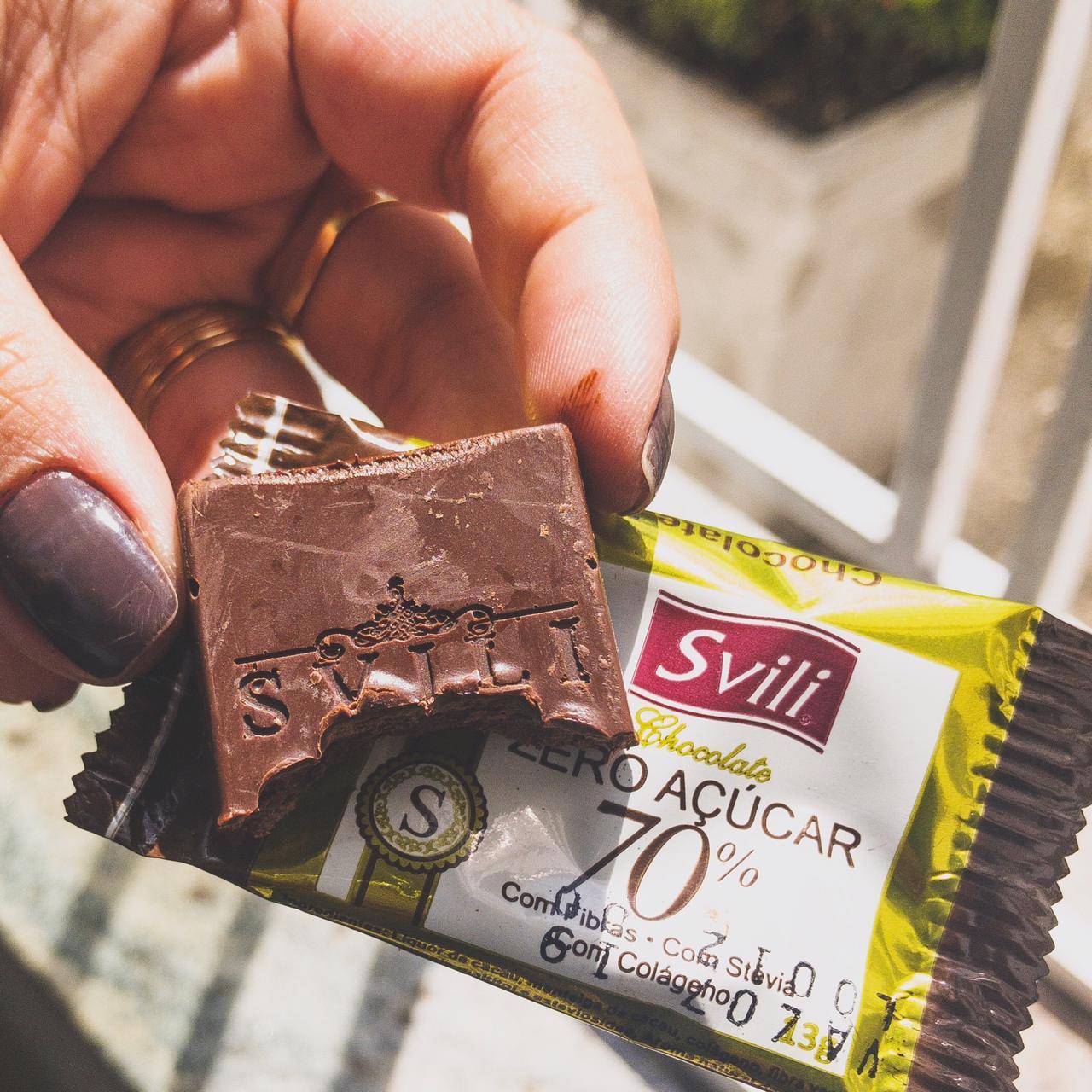 Chocolate 70% Zero Açúcar SVILI