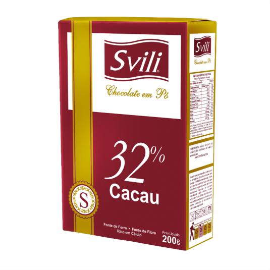 Chocolate em Pó 32% 200g