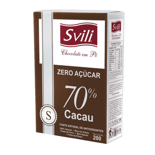 Chocolate em Pó 70% Zero Açúcar 200g