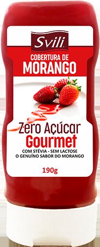 Cobertura Morango Zero Açúcar SVILI