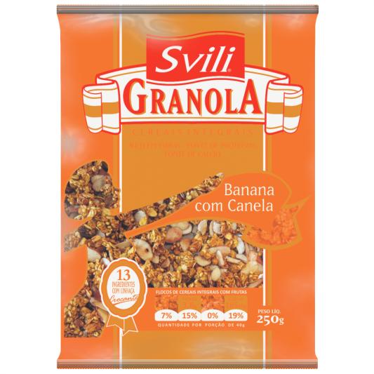 Granola Banana com Canela 250g