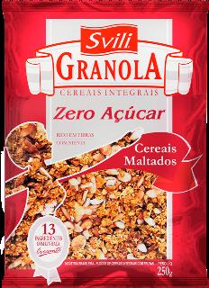 Granola Cereais Maltados Zero Açúcar 250g