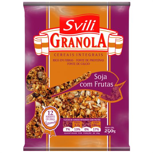 Granola Soja com Frutas 250g