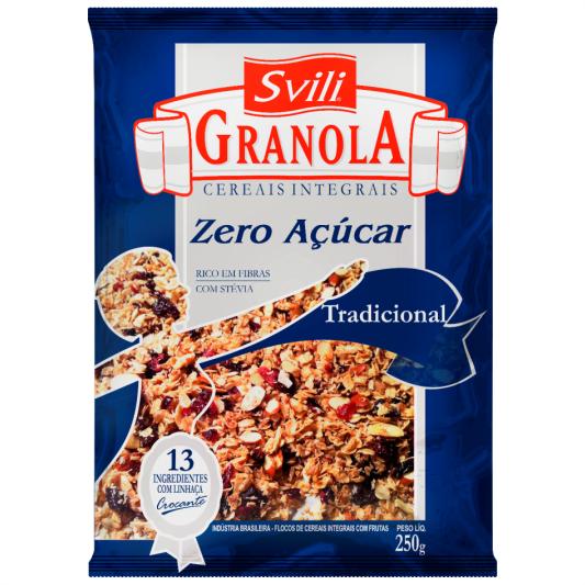 Granola Tradicional Zero Açúcar SVILI
