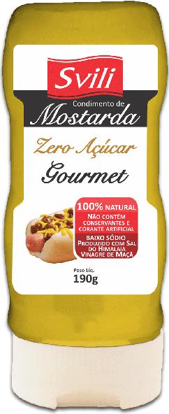 Mostarda Gourmet Zero Açúcar 190g