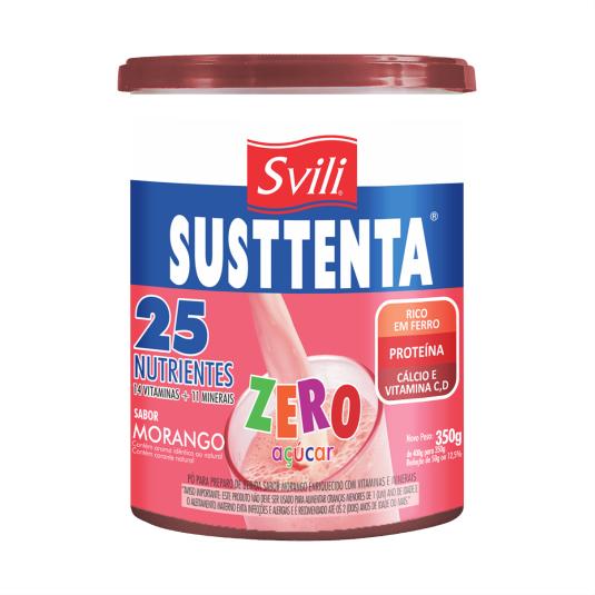 Susttenta Morango Zero Açúcar 350g