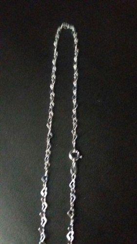 Lindo Colar Feminino 45 Cm Prata 925 Modelo Coração Pequeno