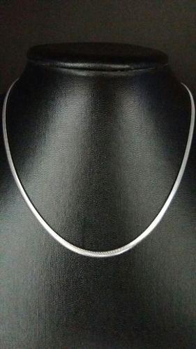 Colar - Prata 925 - Tipo Lacraia - 40 Cm - 7,5 - Gramas