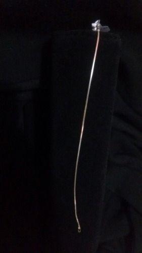 Pulseira Fina Em Prata 925 19cm