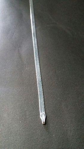 Pulseira Laminada Em Prata 925 19 Cm 3 Gramas 3,3 Mm