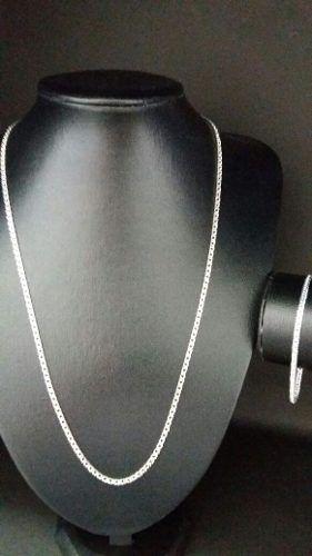 Corrente Prata Maciça 925 60 Cm X 3 Mm + Pulseira Elo Duplo
