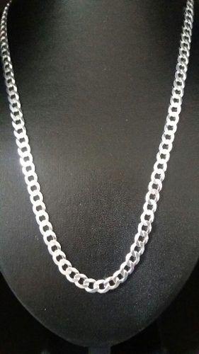 Corrente Grumet Prata 925 - 60 Cm 6,6 Mm 23,7 Gramas